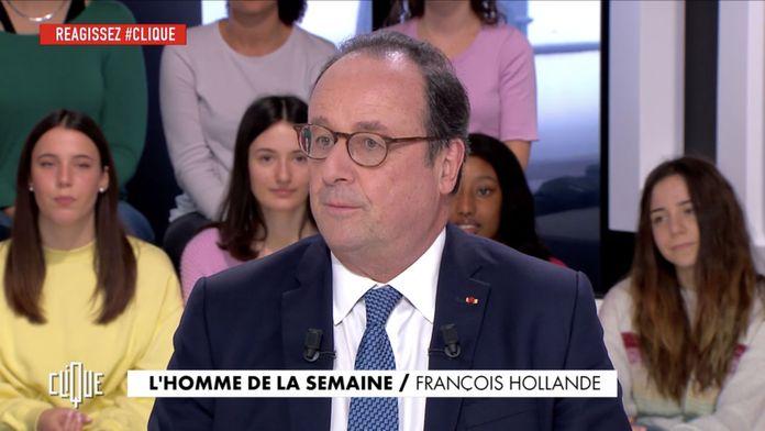 Clique avec François Hollande