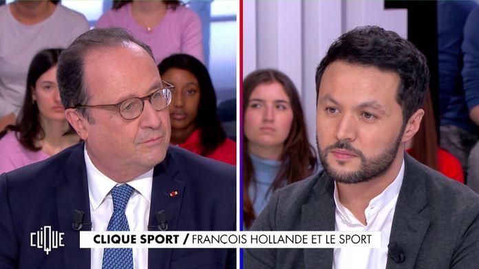 François Hollande et le sport