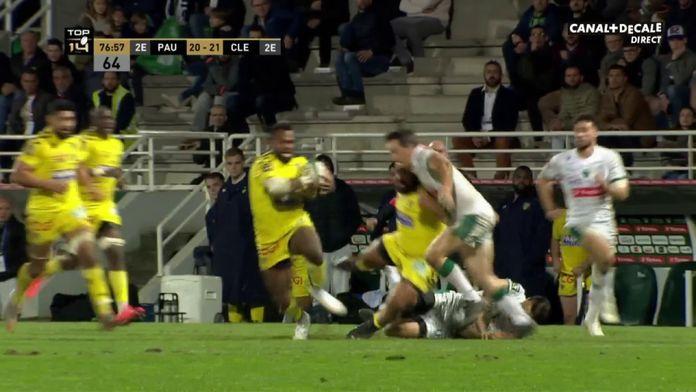 Top14 - Raka donne la victoire à Clermont : Canal Rugby Club