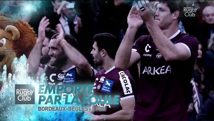 Bordeaux emporté par la foule : Canal Rugby Club