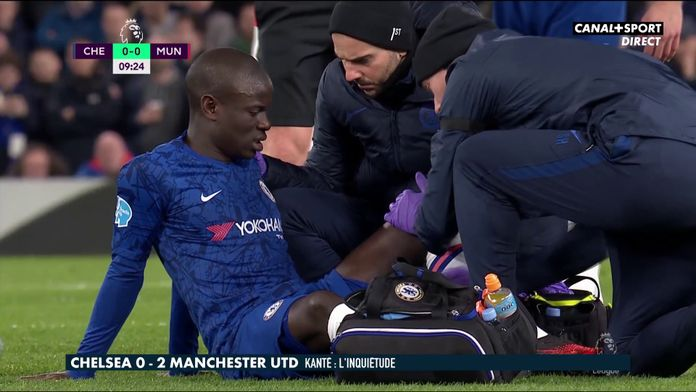 Inquiétude pour N'Golo Kanté sorti sur blessure : Late Football Club