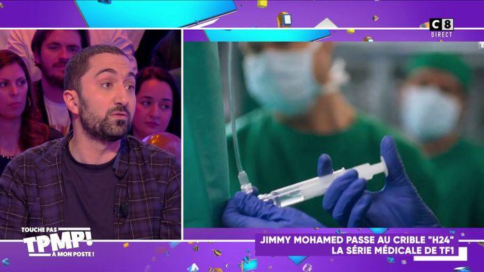 """Jimmy Mohamed passe au crible """"H24"""" la série médicale de TF1 !"""