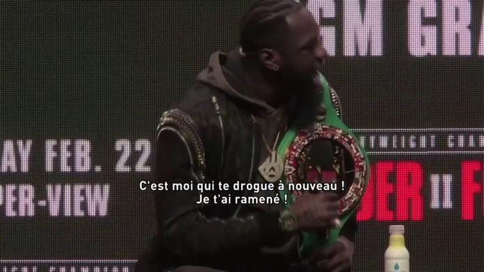 D. Wilder VS T.Fury : Boxe - Wilder VS Fury