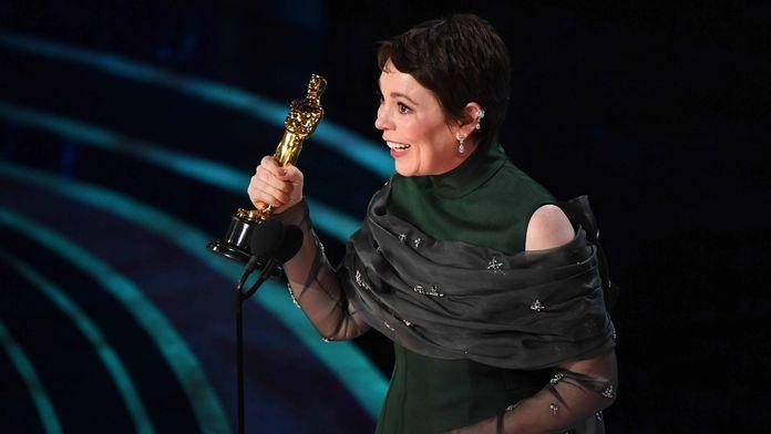C'est hilarant pour Olivia Colman de recevoir l'Oscar de la Meilleure actrice pour La Favorite