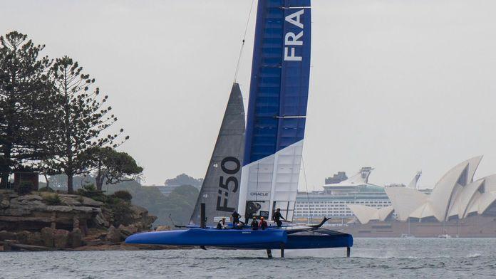Présentation équipage Team France
