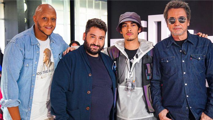 Alex Vizorek, Jean-Michel Jarre et Flashboy se retrouvent sur le plateau de Clique