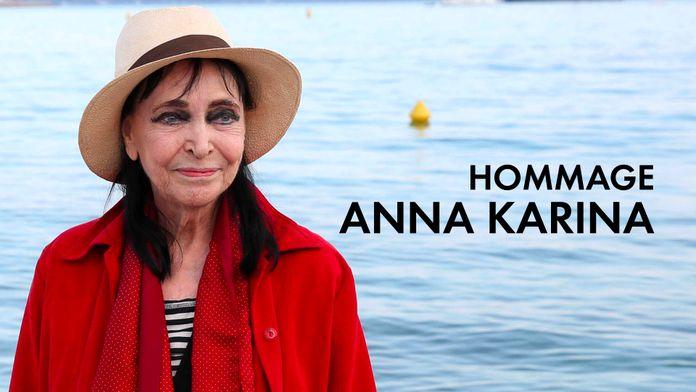 Hommage  à Anna Karina sur Ciné+ A la demande