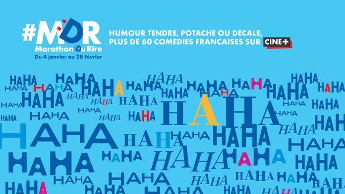 #MDR, le marathon du rire sur Ciné+