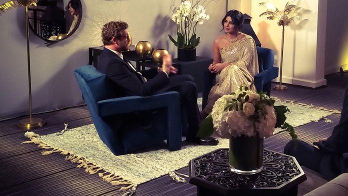 Une rencontre et... avec Priyanka Chopra et Simon Baker