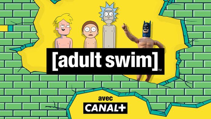 WarnerMedia et le Groupe CANAL+ annoncent  l'arrivée d'Adult Swim en SVOD dans les offres CANAL+