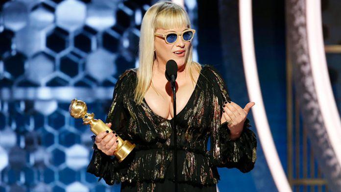 """Golden Globes 2020 : Patricia Arquette livre un discours engagé et implore """"d'offrir un monde meilleur à nos enfants"""""""