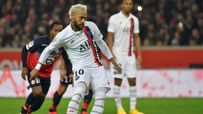Neymar, l'hommage à Kobe