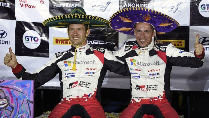 WRC - Ogier décroche sa première victoire avec Toyota