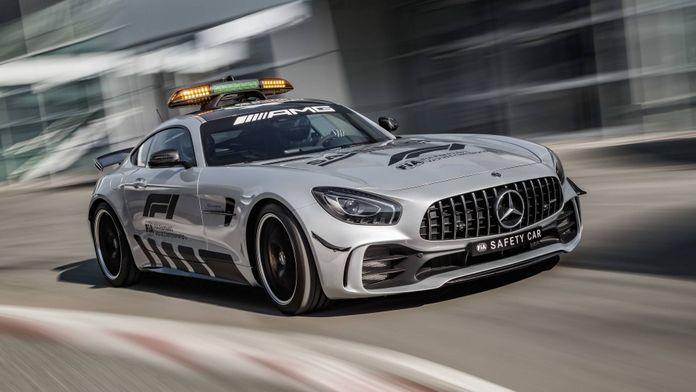 Les Safety Cars de la F1