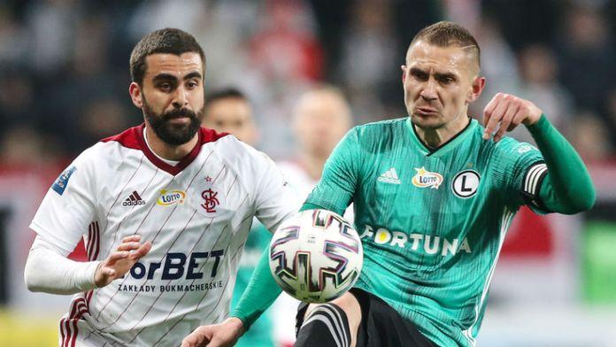 PKO BP Ekstraklasa: Legia pokonała ŁKS