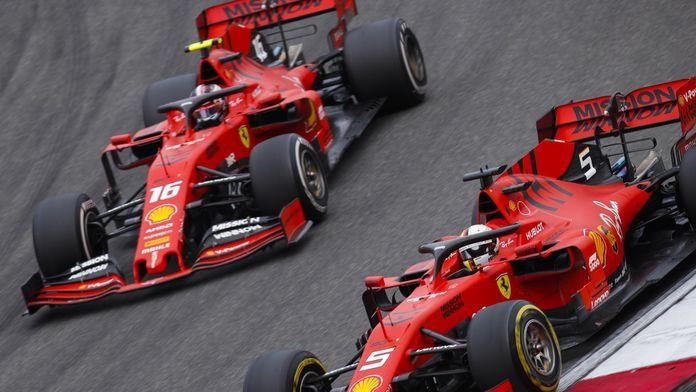 """Vettel : """"Pas si important"""" de battre Leclerc au championnat"""