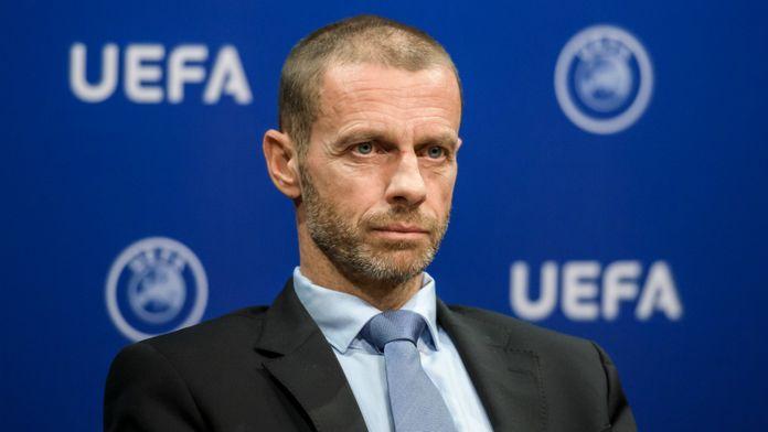 Le président de l'UEFA est pour une reprise des championnats nationaux