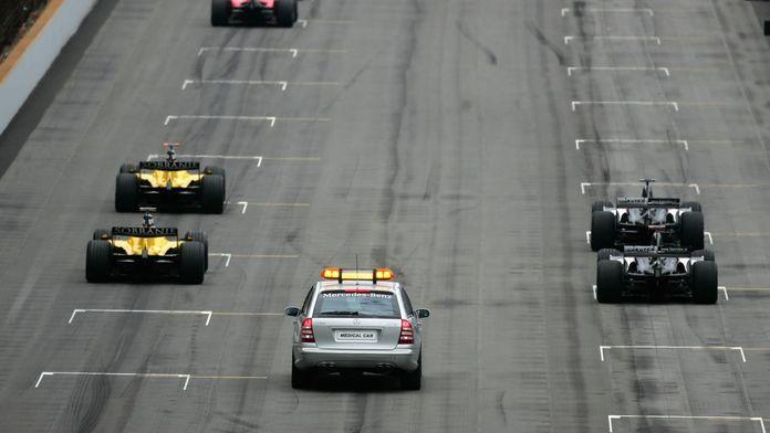 Il y a 15 ans : six F1 au départ, la farce d'Indianapolis