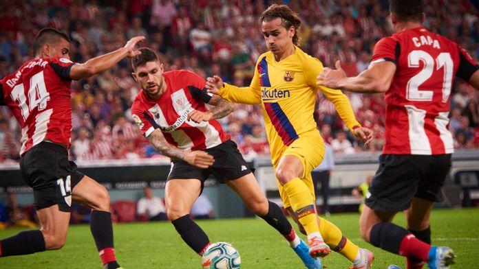 FC Barcelona - Athletic Club wtorkowym hitem europejskich boisk