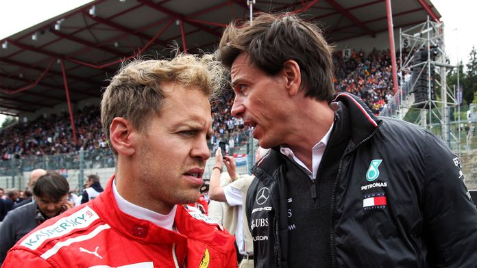"""L'intérêt de Mercedes pour Vettel : """"Pas de simples paroles"""""""