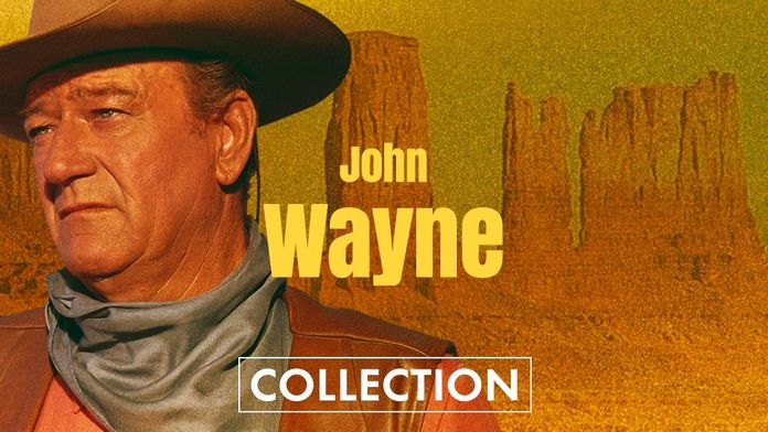 L'archétype du cow-boy, John Wayne !