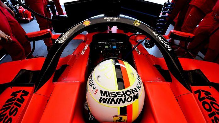 Ferrari ouvert à un changement de châssis pour Vettel