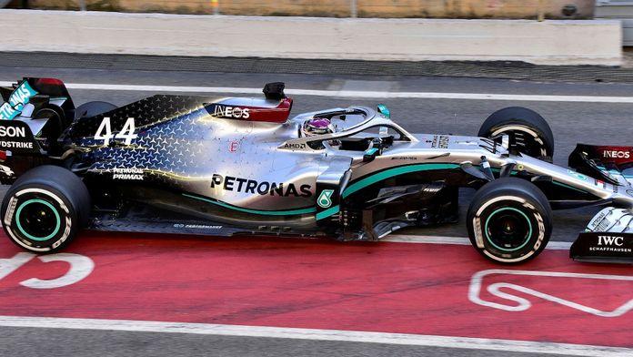 La puissance fulgurante du moteur Mercedes dévoilée