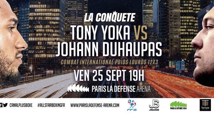 Yoka vs Duhaupas à quelle heure et sur quelle chaîne ?