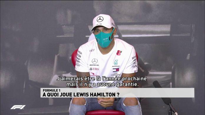 """La présence de Hamilton en F1 en 2021 n'est """"pas garantie"""""""