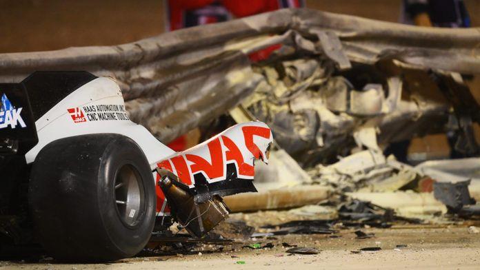 Ce que révèlent les photos de l'épave sur la survie de Grosjean