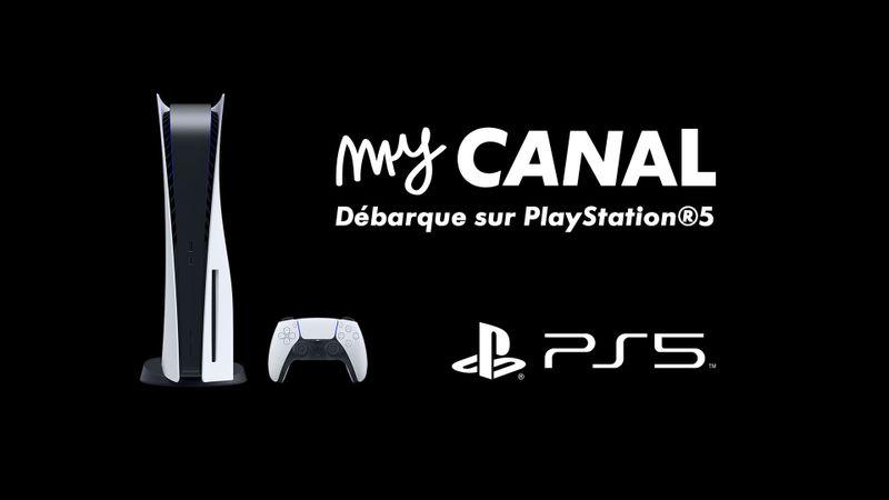 myCANAL disponible sur PS4 et PS5