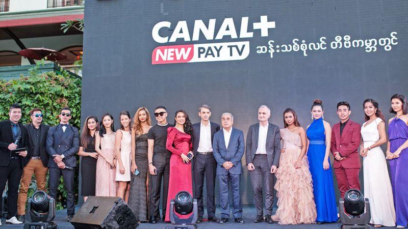 Myanmar, CANAL+INTERNATIONAL